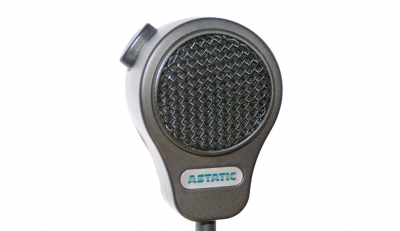 Astatic WM625S Wall Mounted Omnidirectional Dynamic Microphone with Push to Talk Switch